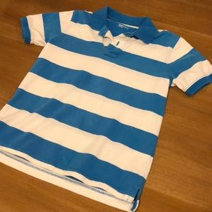 GapKids - size 8 -blue and white polo top